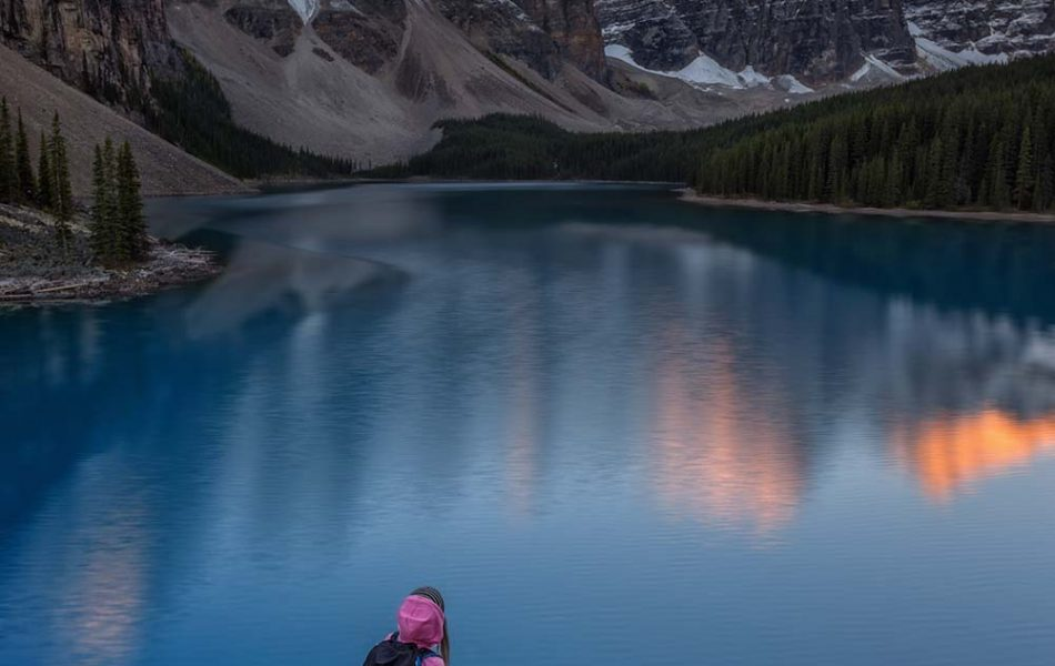 ©Iso100 Photography: 3rd Annual Moraine Lake Selfie