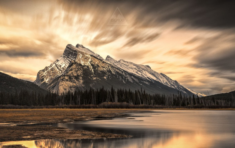 ©Iso100 Photography: Mt. Rundle, Banff