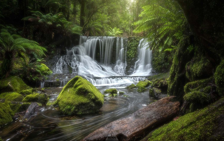©Iso100 Photography: Horseshoe Falls, Tasmania