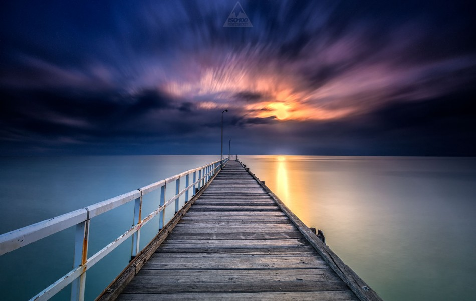 ©Iso100 Photography: Seaford Pier, Melbourne