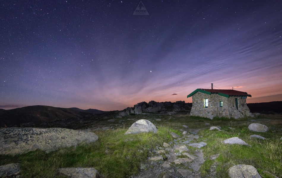 ©Iso100 Photography: Seamans Hut, Kosciusko National Park