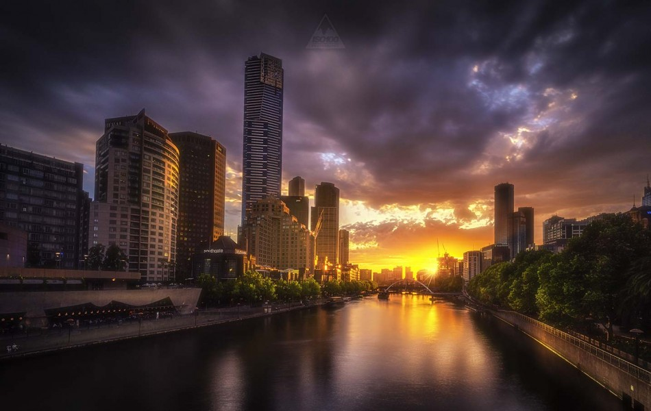 ©Iso100 Photography: Southbank View, Melbourne