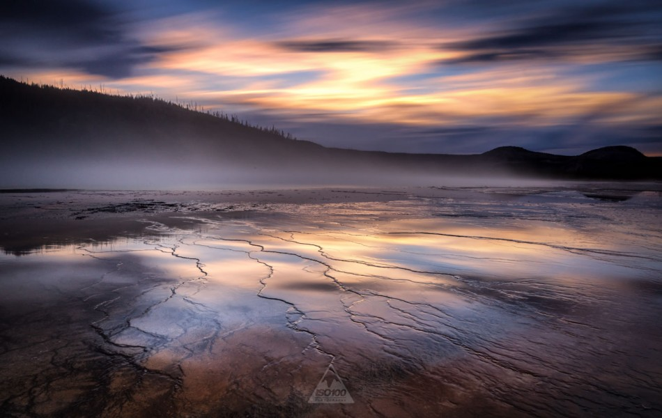 ©Iso100 Photography: Grand Prismatic Spring, Yellowstone National Park
