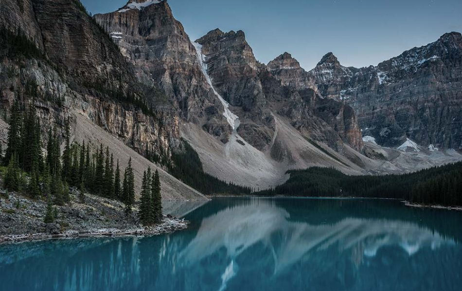 iso100 Photography © Moraine Lake, AB
